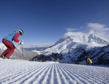 Pista Agnello Alpe di Pampeago nello Ski Center Latemar